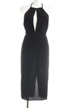 Nakd Neckholderkleid schwarz Elegant