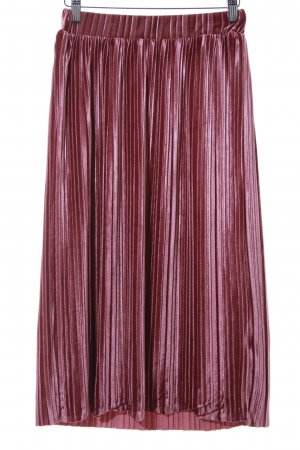Nakd Pleated Skirt pink business style