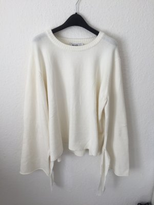 Nakd Pullover mit weiten Ärmeln Creme