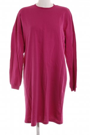 Nakd Sweater Dress magenta-raspberry-red casual look