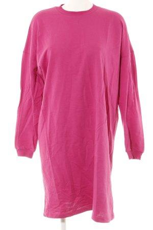 Nakd Pulloverkleid magenta-himbeerrot Casual-Look