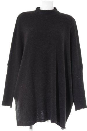 Nakd Pulloverkleid schwarz Casual-Look