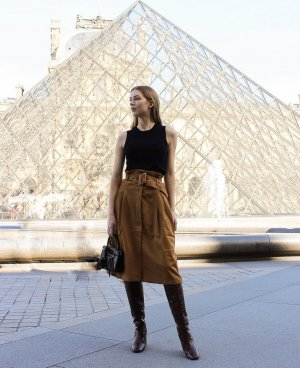 Nakd Midi Skirt multicolored