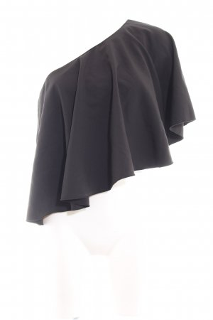 Nakd Schlupf-Bluse schwarz Casual-Look