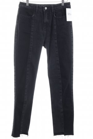 Nakd Skinny Jeans dunkelgrau-anthrazit Casual-Look