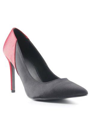 Nakd Pointed Toe Pumps black-dark red casual look
