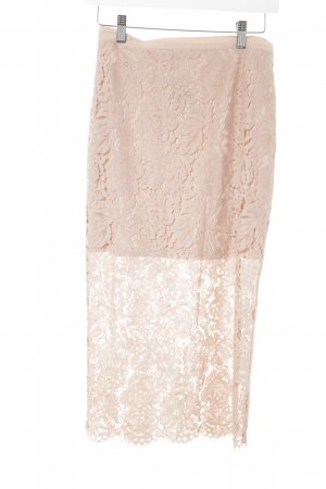 Nakd Lace Skirt nude lace look