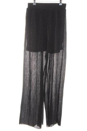 En Style Nakd Jersey Noir Pantalon Transparent JcuKFTl13