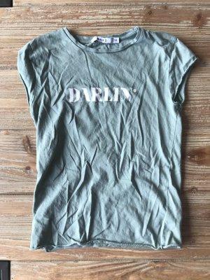 NAKD T-Shirt Shirt Darlin grün XXS