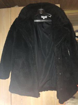 Nakd Fake Fur Jacket black