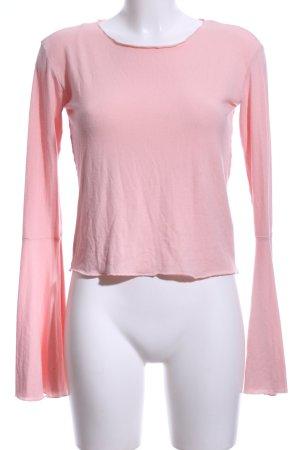 Nakd Boothalsshirt rosé casual uitstraling