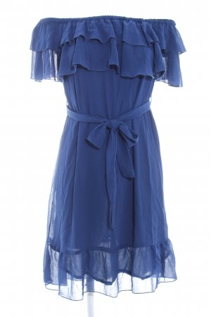 Nakd Volantkleid blau Elegant