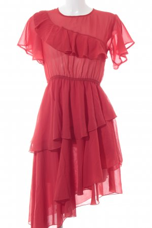 Nakd Flounce Dress red elegant