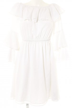Nakd Flounce Dress white elegant