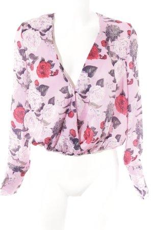 Nakd Wickel-Bluse florales Muster Romantik-Look