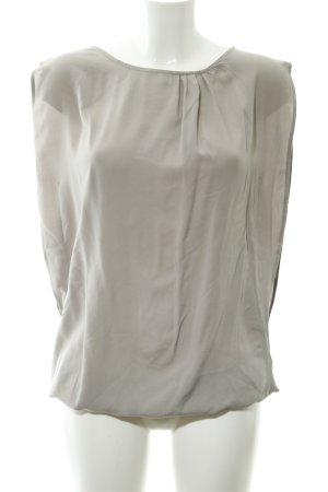 Naketano ärmellose Bluse graubraun Casual-Look