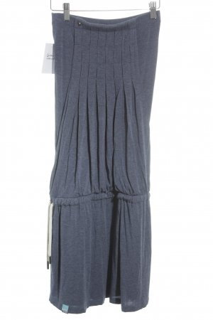 Naketano Robe bandeau bleu acier style athlétique