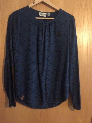 Naketano Bluse XS blau