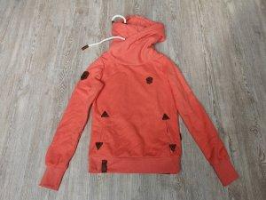 Naketano Darth Pullover Sweatshirt S Grenadine orange