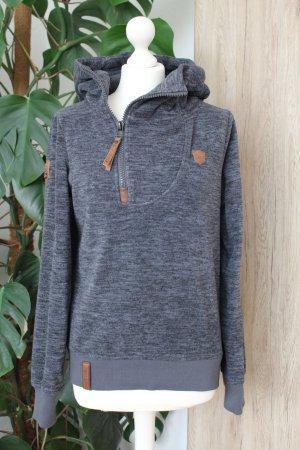 Naketano Jersey con capucha gris-gris oscuro