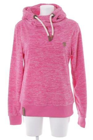 Naketano Fleecepullover pink-rosa Casual-Look