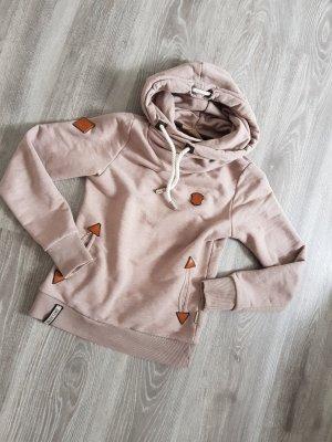 Naketano hoodie braun Pullover Gr S