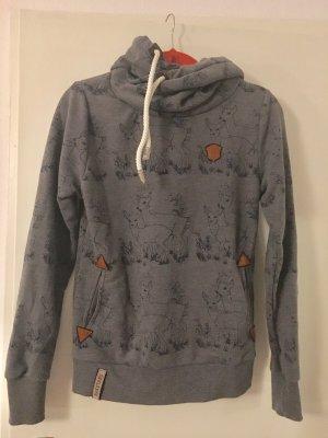 Naketano Capuchon sweater veelkleurig Katoen