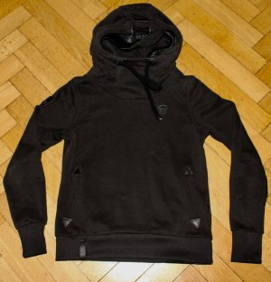 Naketano Hoodie Size M Medium black schwarz hooded Sweatshirt NEU Hoody