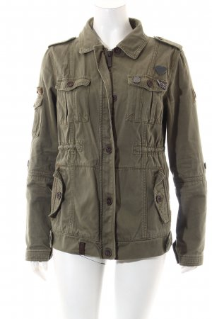 Naketano Jacke khaki Casual-Look