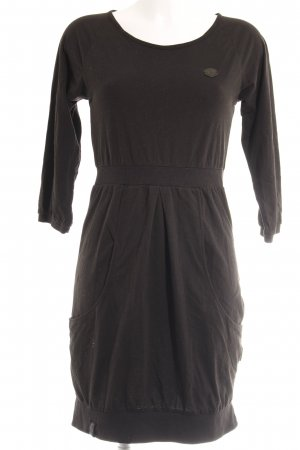 Naketano Jerseykleid schwarz Casual-Look