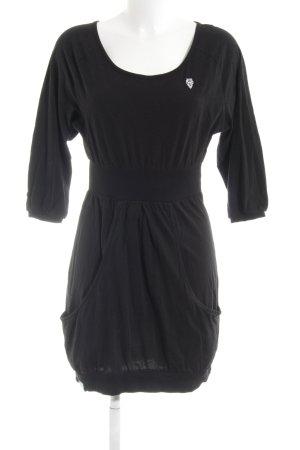 Naketano Jerseykleid schwarz sportlicher Stil