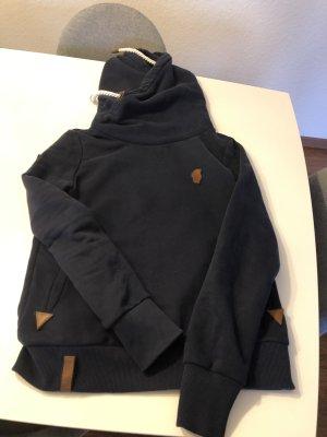 Naketano Jersey con capucha azul oscuro