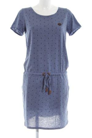 Naketano Hooded Dress allover print casual look