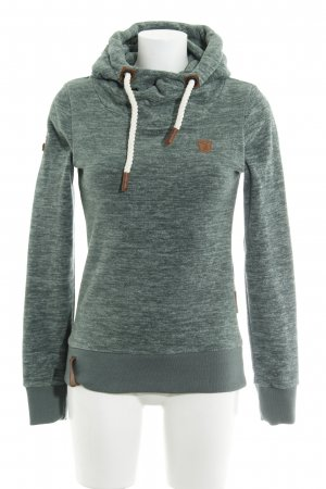 Naketano Hooded Sweater flecked casual look
