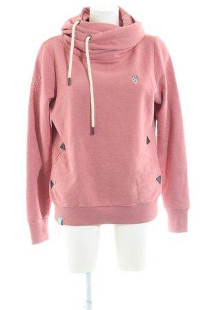 Naketano Kapuzensweatshirt pink Casual-Look