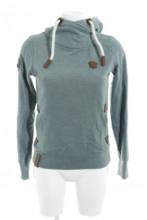 Naketano Kapuzensweatshirt khaki schlichter Stil