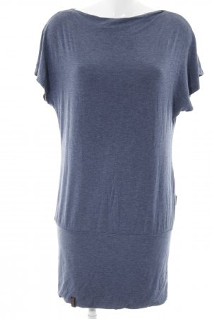 Naketano Long Shirt slate-gray flecked casual look