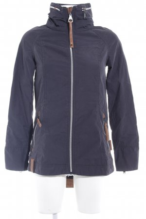 Naketano Outdoor Jacket dark blue-blue casual look