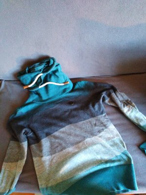 Naketano Camisa de cuello de tortuga petróleo