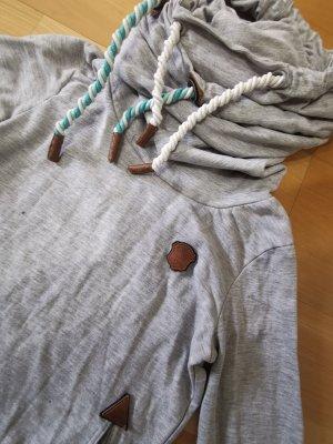 Naketano Turtleneck Shirt light grey