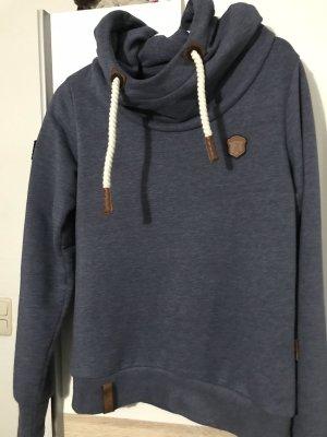 Naketano Pull à capuche bleu