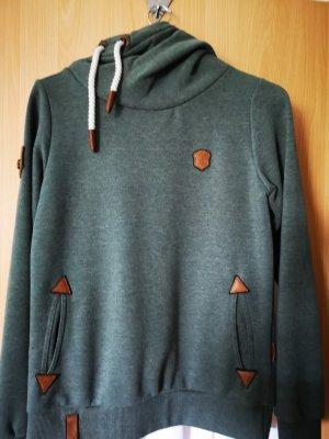 Naketano Jersey con capucha multicolor Algodón