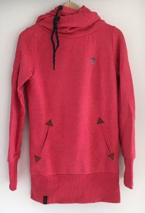 Naketano Pullover / Hoodie in Rot/pink, Größe S
