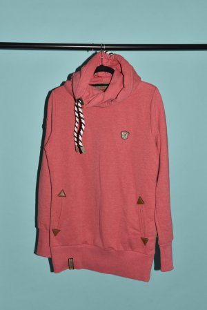 Naketano Pullover Hoody Darth Long IV 38/L pink