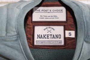 Naketano Pullover Sweater mint Herren S Neu