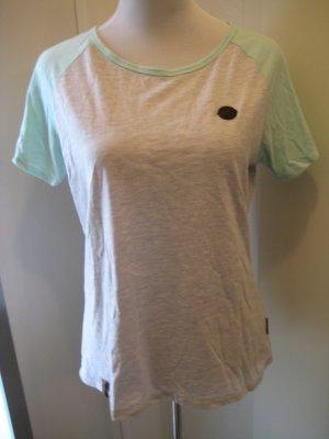 Naketano Shirt Grau Hellblau Gr. M/L