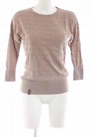 Naketano Strickpullover wollweiß Casual-Look