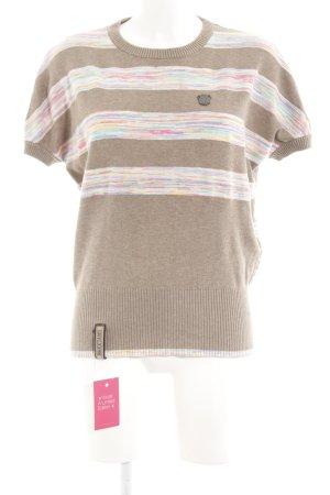Naketano Camisa tejida estampado a rayas look casual
