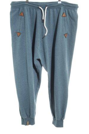 Naketano Pantalon de jogging bleu pétrole style décontracté