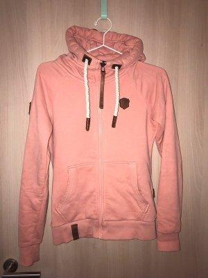 Naketano Hooded Sweater pink